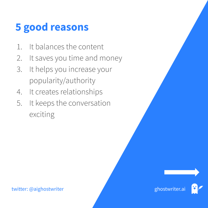 Five good reason to do social media content curation