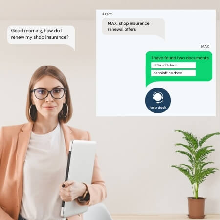 intelligent virtual assistant contact center